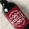 Make wine labels, for personalized gifts, wedding gifts, or if you have your own winery, make labels for your brand of wine. Choose from the 2 standard templates, and either use our designs or upload your own designs, or company logo, in the sticker maker!