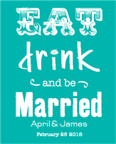 Be Married Wine Label