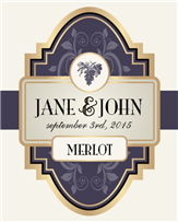 Elegant Wine Label