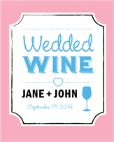 Wedded Wine Frame