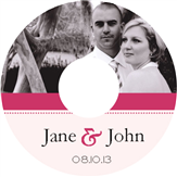 Wedding Photo CD Label