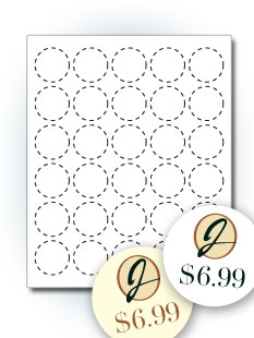 Shape Labels Templates Stickeryou Products Stickeryou