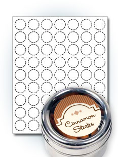 custom spice labels and jar labels templates stickeryou products